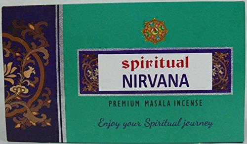 SRI DURGA PERFUMERY WORKS Sri Durga Räucherstäbchen Spiritual Nirvana 12Packungen x 15g