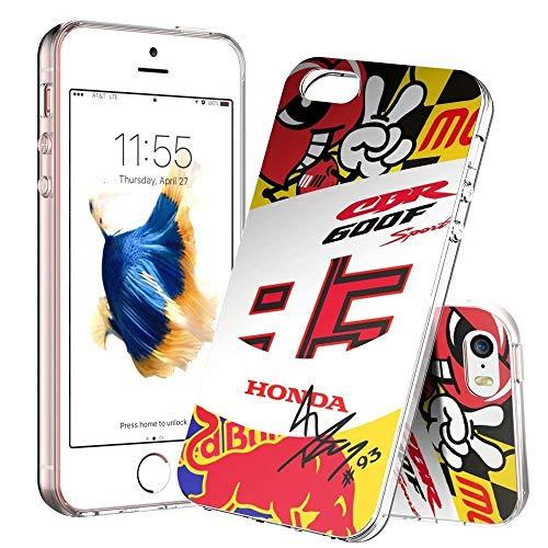 Funda para teléfono iPhone X/XS, ultradelgada de TPU transparente a prueba de golpes y antiarañazos - Patrones personalizables [LZX20190466]