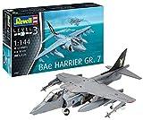 Revell- Bae Harrier GR.7 Kit di Modelli in plastica, Multicolore, 1/144, 03887