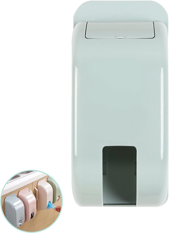 Soporte de Pared de Plástico Dispensador Bolsa Dispensador de Bolsas de Plástico Dispensador de Bolsas Cocina Dispensador Bolsas de Plastico Dispensador de Bolsas para Almacenar Bolsas Plásticas