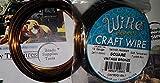 18 Ga Square Copper Craft Wire Vintage Bronze Color 42845