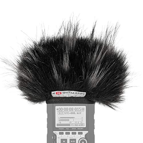 Gutmann Mikrofon Windschutz für Zoom H4n / H4nSP / H4n Pro Star   Made in Germany