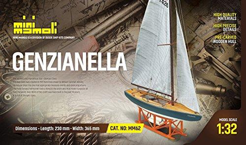 MINI MAMOLI - Modello Kit Barca Star GENZIANELLA Serie