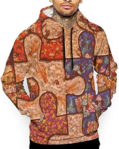 1Zlr2a0IG PecoStar Colorful Autism Awareness Puzzle Men's Winter Sweatshirts Long Sleeve Hoodies 3D Print Jumpers S M L XL 2XL