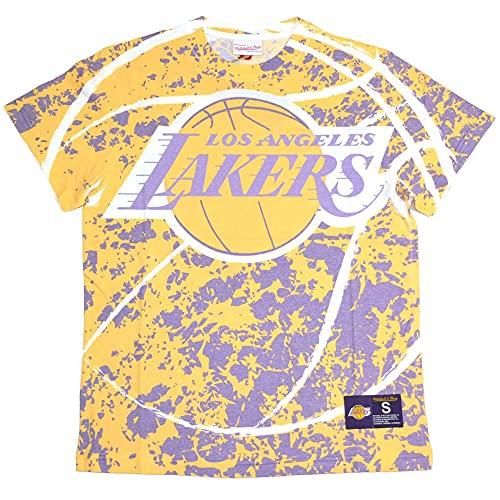 Mitchell & Ness NBA Jumbotron LA Lakers - Camiseta de manga corta amarillo M