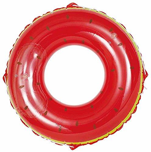 ドウシシャ 浮き輪 スイカ 120cm