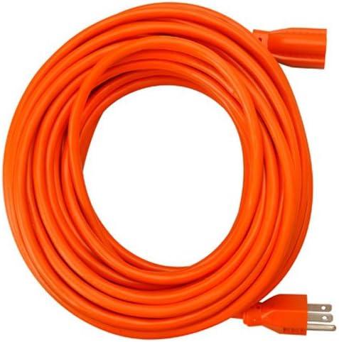 Master Electrician 02309ME Orange Spring new work Vinyl 100-Feet Extension Round Cheap bargain