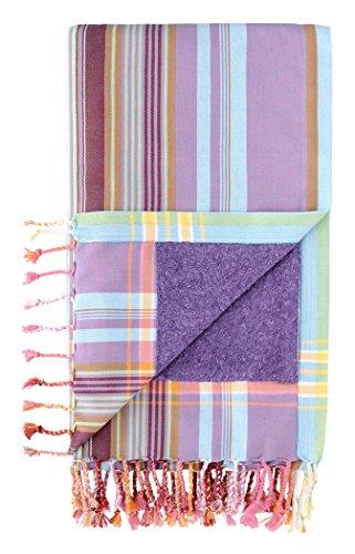 Kikoy Factory - Strandtuch / Sarong - Handtuch - Kikoy Towel 13281A2 - Farbe : Candy - Größe : 95 x 165 cms