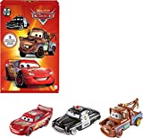 Disney Pixar Cars Radiator Springs Die-Cast Toy Vehicles 3-Pack, 1:55-Scale, With Lightning McQueen, Sheriff & Mater, Gift For Kids Age 3 Years and Older