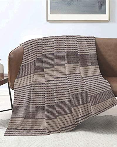 Funda para sofá o sillón, colcha de matrimonio grande, foulard de algodón, modelo SHIVA (pardo)