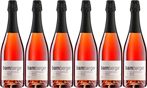 Wein- und Sektgut Bamberger Rosé Sekt 2017 Trocken (6 x 0.75 l)