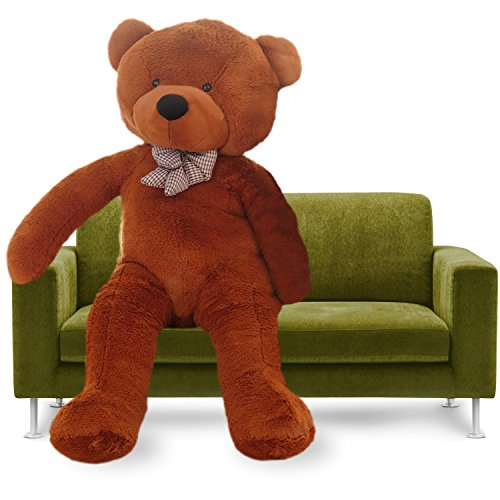 YXCSELL Giant Teddy Bear Soft Big Plush Stuffed Animal Toys Girlfriends Gift 47 inches