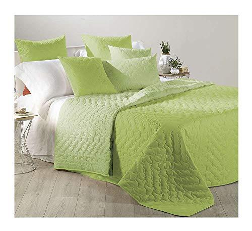 Caleffi Tagesdecke für Frühling, französisches Bett, Mix Bordeaux, aus Baumwolle, 76835