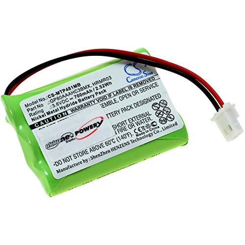 Akku für Babyphone Motorola MBP481 / MBP482 / MBP483, 3,6V, NiMH
