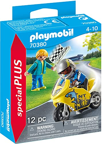 Playmobil- Bambini con Mini-Moto, Colore, 70380