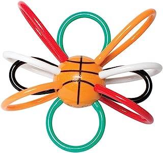 Manhattan Toy Basketball Winkel Rattle & Sensory Teether Baby Toy