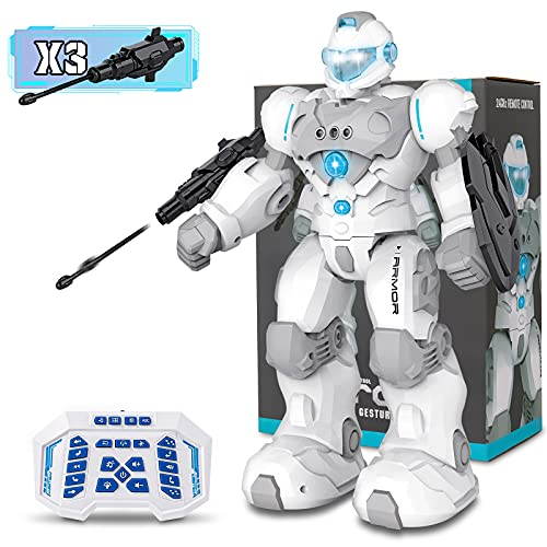 RC Robot Toys for 4 5 6 7 8 9 Year Old...