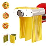 ANTREE Pasta Maker Attachment for KitchenAid Stand Mixers with...