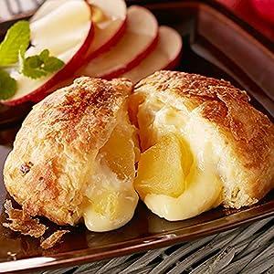 送料無料 八天堂 プレミアムフローズンくりーむパンとデニッシュリンゴ詰合せ 計12個入り