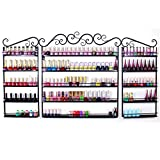 Yaheetech Espositori Smalti da Parete Organizer Rossetti Trucchi Make Up Set di 3 Scaffali...