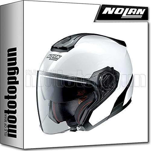 NOLAN MOTORRAD JETHELM N40-5 SPECIAL PURE WEISS 015 SZ. XXL