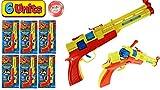 JA-RU Cap Gun Enforcer Super Bang Hot Shots (6 Units Bulk) Quality Plastic Great Bang Party Favors Supplies for Kids. 926-6p