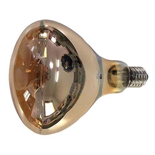 Fengrun Heating Lamp Waterproof Explosion-Proof 250w Medical Infrared Heat Light for Animal Farm Chick Pig Breeding Bathroom Yuba Bulb