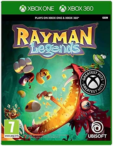 Ubisoft Rayman Legends, Xbox 360