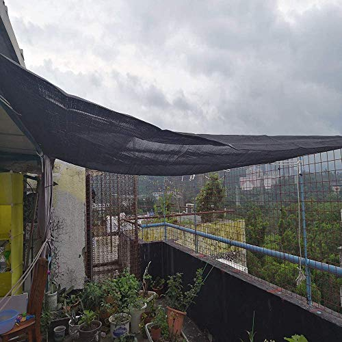 F-S-B zonneblok schaduw doek schaduw mesh Tarp Plant Cover kas, schuur of Kennel, Top schaduw doek kwaliteit paneel, zwart