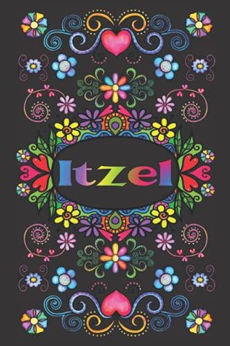 REGALO PERSONALIZADO PARA ITZEL: Hermoso Diario Forrado Con El Nombre De Itzel