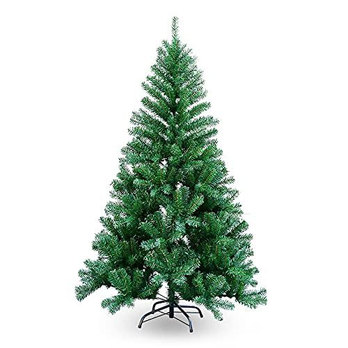 SWANEW Sapin de Noël artificiel unique - 2,1 m - Vert - Diff