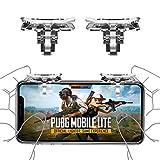 Newseego Déclencheur de Contrôleur de Jeu Mobile PUBG,Contrôleurs de Téléphones Portables L1R1 Bouton...