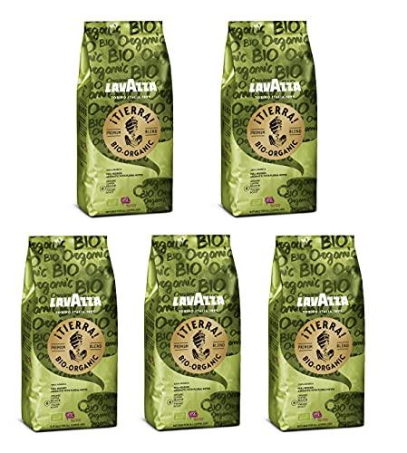 Luigi Lavazza ¡Tierra!For Planet Organic, Vorteilspackung, 100% hochwertigen Arabica Kaffeebohnen, Helle Röstung, 2.5 kg