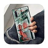 Hopereo Coque en verre trempé pour Samsung Galaxy S20 Fe S10 S9 S8 Plus Note 20 Ultra 10 Lite 9 8...