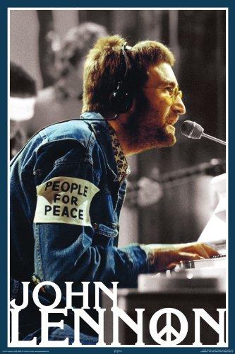 NMR 24976 John Lennon People for Peace Decorative Poster