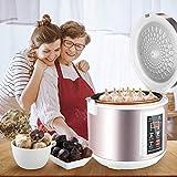 HUKOER 5L Fermentador de ajo Negro Todo-en-uno máquina de fermentación Inteligente ajo pote...