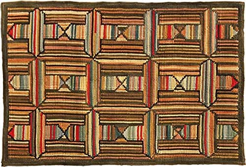 EuroLux Max 44% OFF Home Easy-to-use Rug Traditional Antique Camp Star North 3x5 5x3 Mul