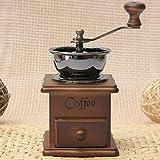 Moulin à café manuel, moulin à café à la main 105x105x170mm Voir image