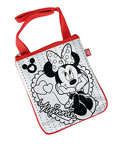 Simba 106375385 - Color Me Mine Minnie Mouse Sling Bag 18 x 22 cm