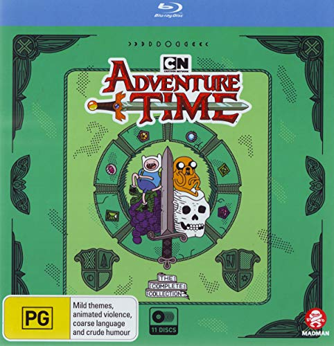 ADVENTURE TIME COMPLETE COLLEC - ADVENTURE TIME COMPLETE COLLEC (1 BLU-RAY)