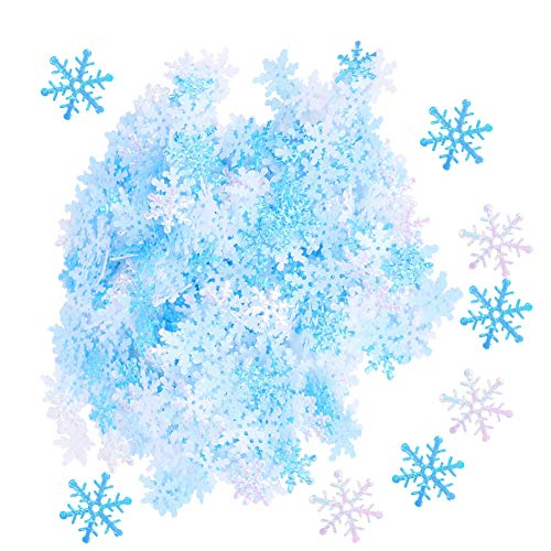 Light Weight 30mm / 1.2in 600pcs Snowflakes Decoration, Exquisite Snowflakes Decoration, Anniversary Wedding