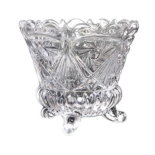 Cubo de Hielo para el Hogar/Bar Cubo de Hielo, sin Plomo Manera del Vidrio Cubo de Hielo Bar KTV Cubo de Hielo Creativo Diamante del Cubo de Champán del Barril de Vino (Tamaño: 18 cm * 16 cm)