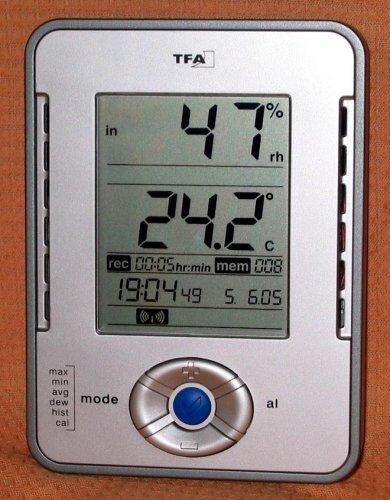 Profi-Hygrometer Klimalogger mit Computer-Anschluß