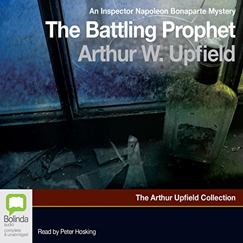 The Battling Prophet audiobook cover art