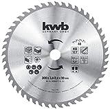kwb 593059 - Lama per sega circolare, 300 x 30 mm, per seghe circolari da tavolo, denti al...