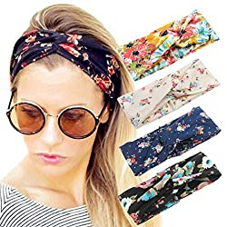 The Best Gifts for Teenage Girls Floral Hair Wraps for Teen Girl Haircare Gift Basket