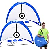 JOGENMAX Pop Up Soccer Goal