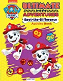 Paw Patrol Ultimate Adventures Spot the difference Activity book