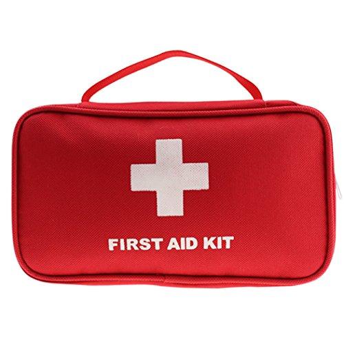 JUSTDOLIFE Bolsa Médica Bolsa De Primeros Auxilios Impermeable Bolsa De Almacenamiento Médica Portátil Kit De Bolsa Médica para El Hogar Al Aire Libre