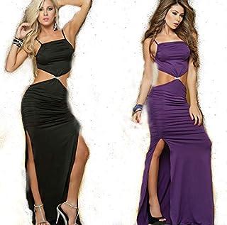 4b272f411019 weyb Falda Larga Europea Y Americana Lencería Erótica Sexy Tentación Papel  Que Juega El Uniforme Purple
